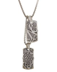 Stephen Webster - Metallic Silver Necklace for Men - Lyst