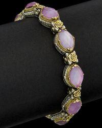 Konstantino - Multicolor 18k & Silver Gemstone Doublet Cuff - Lyst