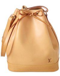 Louis Vuitton - Multicolor Vachetta Leather Noe Petite - Lyst