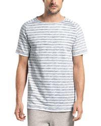 Hanro Gray Raul Short Sleeve Shirt for men