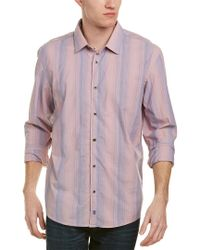 Ike Behar - Pink Ike By Woven Shirt for Men - Lyst