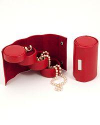 Bey-berk - Red 3-level Jewelry Roll - Lyst