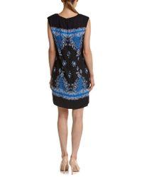 Cece by Cynthia Steffe - Blue Villa Paisley Border Dress - Lyst