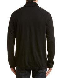 Icebreaker - Black Men's Coronet Longsleeve Half Zip for Men - Lyst