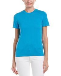 Anne Klein - Blue Knit Top - Lyst