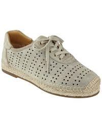Marc Fisher Multicolor Ltd Carrol Leather Espadrille Sneaker