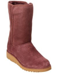 Ugg - Purple Women's Amie Water-resistant Twinface Sheepskin Boot - Lyst