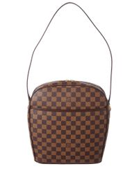 78c5c9fe2aa6 Louis Vuitton Damier Ebene Canvas Ipanema Gm in Brown - Lyst