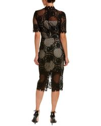 Alexia Admor | Black Lace Cocktail Dress | Lyst