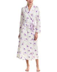 Carole Hochman - Purple Floral Robe - Lyst