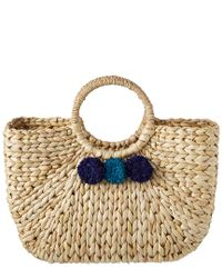 Hat Attack - Blue Tote - Lyst