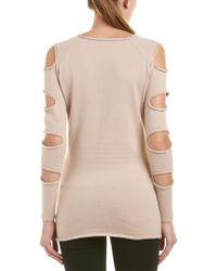 Love Token - Natural Gabby Sweater - Lyst
