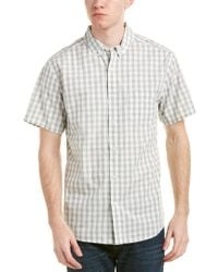 Life After Denim - White Life/after/denim Das Woven Shirt for Men - Lyst