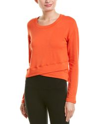 Vimmia Orange Soothe Cross Front Pullover