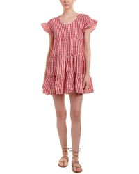 Romeo and Juliet Couture Red Gingham Shift Dress