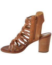 Jack Rogers - Brown Hadley Leather & Suede Sandal - Lyst