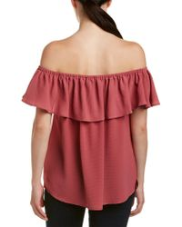 Harvé Benard - Red Blouse - Lyst