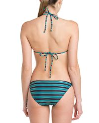 French Connection - Natural Sun & Sea Blue Blood & Gold Stripe Bow Tie Brief - Lyst