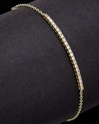 Meira T - Blue 14k 0.24 Ct. Tw. Diamond Tennis Bracelet - Lyst