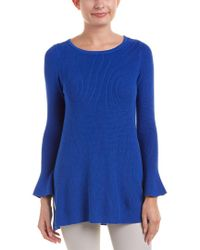 Cece by Cynthia Steffe - Blue Sweater - Lyst
