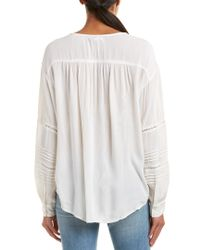 Amuse Society - White Zelia Top - Lyst