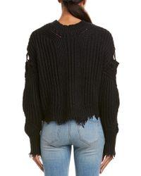 Wildfox - Black Alyx Sweater - Lyst