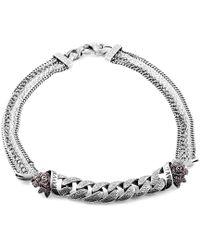 Stephen Webster - Metallic Silver 1.92 Ct. Tw. Garnet Necklace - Lyst