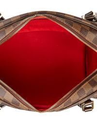 Louis Vuitton - Brown Damier Ebene Canvas Rivington Gm - Lyst