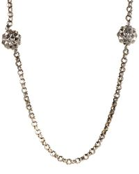 Stephen Webster - Metallic Silver 46in Necklace - Lyst