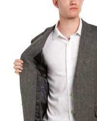 Tommy Hilfiger Gray Ethan Wool, Silk, & Cashmere-blend Sportcoat for men