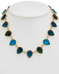 Carolee - Multicolor Central Park Boathouse 12k Plated Collar Necklace - Lyst