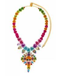 Bijoux De Famille | Multicolor Santa Anna Rosary Necklace | Lyst
