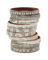 Bijoux De Famille   Multicolor Dollar Bangles   Lyst