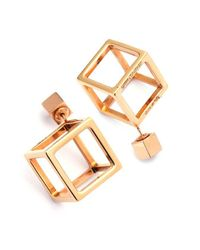Caterina Zangrando - Metallic Jason Gold Mono Earring - Lyst