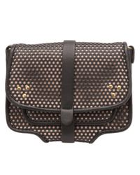 Jérôme Dreyfuss - Jojo Crossbody Bag Perforated Black And Nude - Lyst