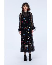 Sachin & Babi - Black Rose Gown - Lyst