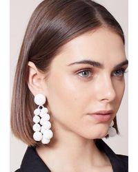 Sachin & Babi - Trinity Earrings | White - Lyst