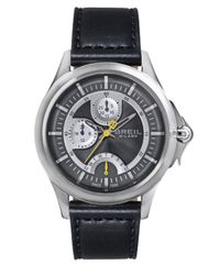 Breil | Black Dome Stainless Steel Watch | Lyst