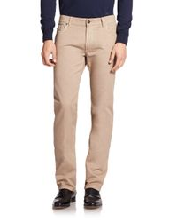 Ferragamo | Natural Straight-leg Jeans for Men | Lyst