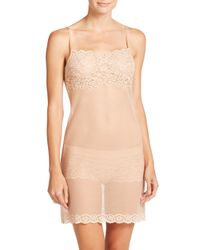 Commando - White All Lace Slip - Lyst