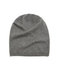 Saks Fifth Avenue | Gray Cashmere Slouchy Hat for Men | Lyst