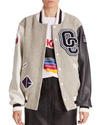 Opening Ceremony | Natural Classic Varsity Jacket | Lyst
