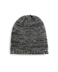 Block Headwear | Black Marled Knit Beanie for Men | Lyst