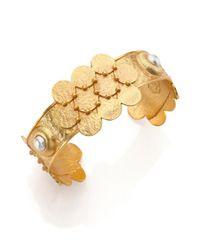 Stephanie Kantis | Metallic Love Cuff Bracelet | Lyst
