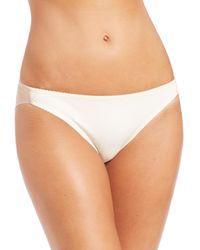 Fortnight | Natural Seamless Bikini Brief | Lyst