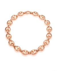 Gucci | Pink Marina Chain 18k Rose Gold Link Necklace | Lyst