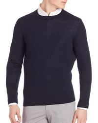 Theory | Blue Riland New Sovereign Sweater for Men | Lyst