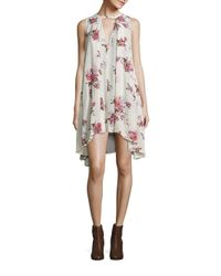 Free People | Multicolor Snap Out Of It Printed Swing Top | Lyst