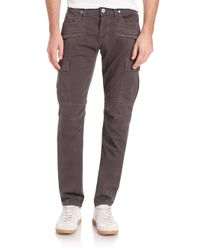 Hudson Jeans | Gray Greyson Cargo Biker Pants for Men | Lyst