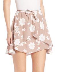 For Love & Lemons - Natural Sweet Jane Floral Skirt - Lyst